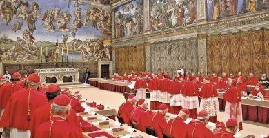 Origen del cónclave papal