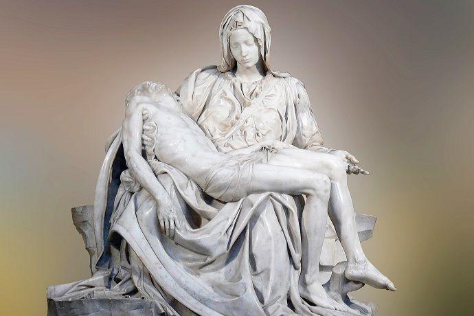 Escultura la Piedad San Pedro