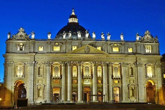 Creación de la Basílica de San Pedro