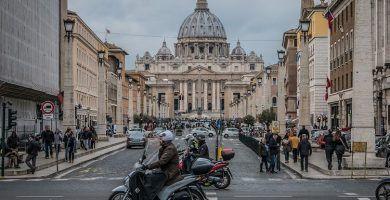 Obras en la Basílica San Pedro